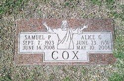 Alice G Cox