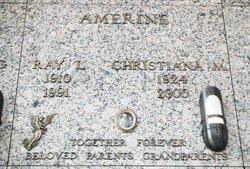 Christiana <i>Menter</i> Amerine