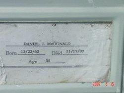 Daniel Joseph Danny McDonald