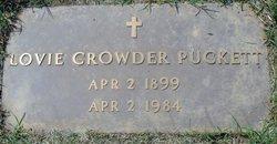 Lovey Mae <i>Crowder</i> Puckett