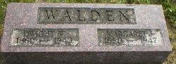 Margaret J <i>Fowlie</i> Walden