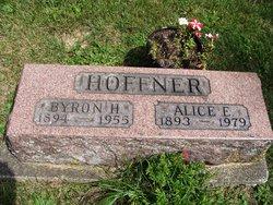 Alice E. <i>Wickman</i> Hoffner