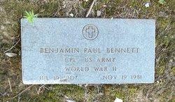 Benjamin Paul Bennett
