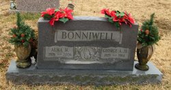 Alma A. <i>Major</i> Bonniwell