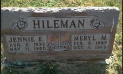 Jennie Edna <i>Demaray</i> Hileman