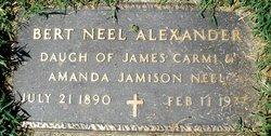 Annie Bert <i>Neel</i> Alexander