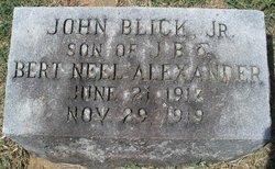 John Blick Alexander, Jr