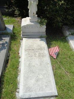 Gertrude Elizabeth Algonas