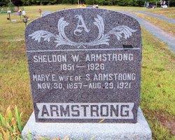 Mary E <i>Smith</i> Armstrong