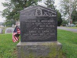 Sgt William H Bookman