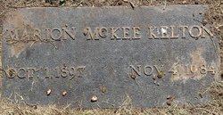 Marian <i>McKee</i> Kelton