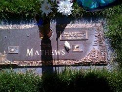 Wallace LeGrand Wally Mathews