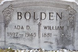 William Thomas Bolden, Sr