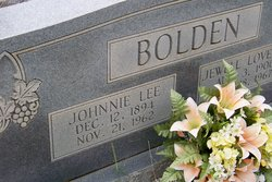John Lee Johnnie Bolden