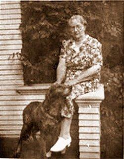 Emma Dorsey <i>Dahlgren</i> Mascott