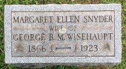 Margaret Ellen <i>Snyder</i> Wisehaupt