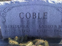 Kathryn M <i>Hocker</i> Coble
