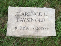 Clarence L Baysinger