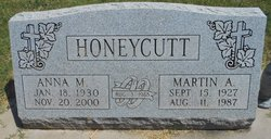 Martin Andrew Honeycutt, Sr