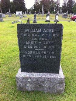 Annie M. <i>Freer</i> Adee