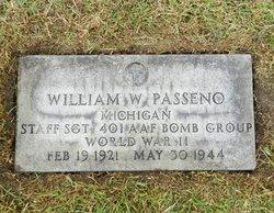 Sgt William W Passeno