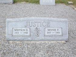 Minnie Louise <i>Freeman</i> Justice