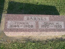 Frania Irma <i>Perkins</i> Barnes