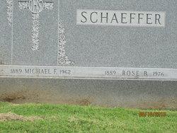 Rose B Schaeffer