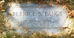 Bernice S Bangs
