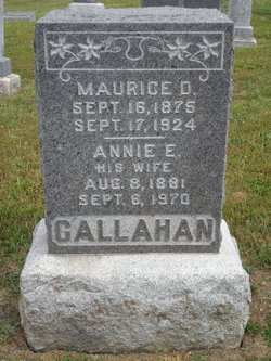 Maurice D Callahan