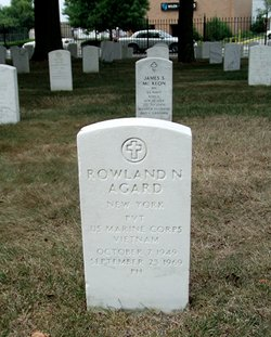 Pvt Rowland Nathaniel Agard