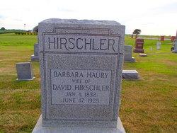 Barbara <i>Haury</i> Hirschler