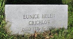 Eunice Helen Crichlow