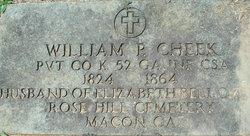 William P. Cheek