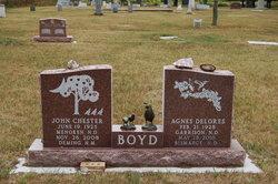 Agnes Delores <i>Boger</i> Boyd
