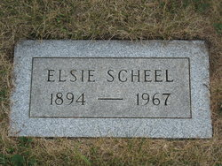 Elsie C. Scheel