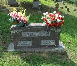 Gracie Agnes <i>Stover</i> Anderson