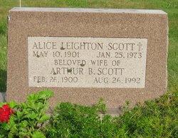 Alice <i>Leighton</i> Scott