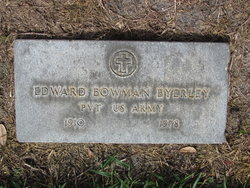 Edward Bowman Byerley, Sr