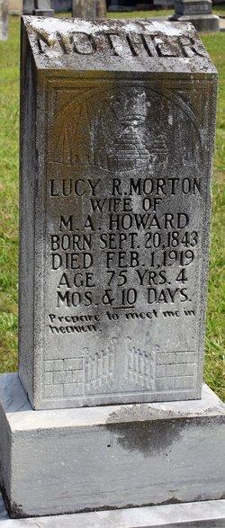 Lucy R <i>Morton</i> Howard