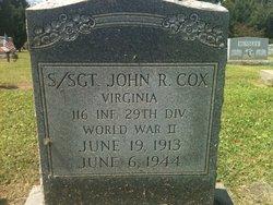 John R Cox