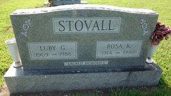 Rosa Kathryn <i>Wright</i> Stovall