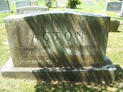 Betty Haywood <i>Hicks</i> Acton