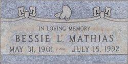 Bessie L. Mathias