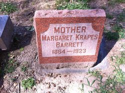 Margaret Ellen Maggie <i>Krapes</i> Barrett