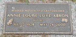 Annie Louise <i>Love</i> Abron