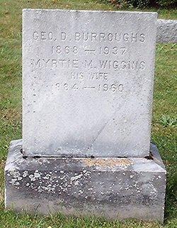 George D Burroughs