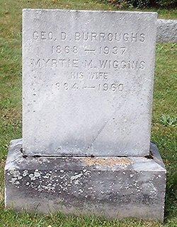 Myrtie M <i>Wiggins</i> Burroughs