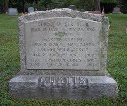 Mary E <i>Guptill</i> Curtis