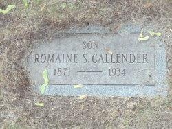 Romaine S. Callender